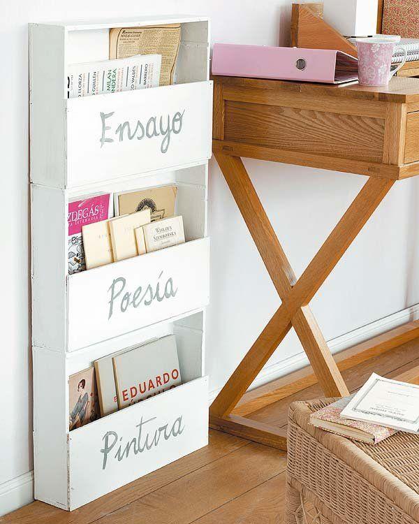 Manualidades con cajas de madera Pinterest Caja de madera