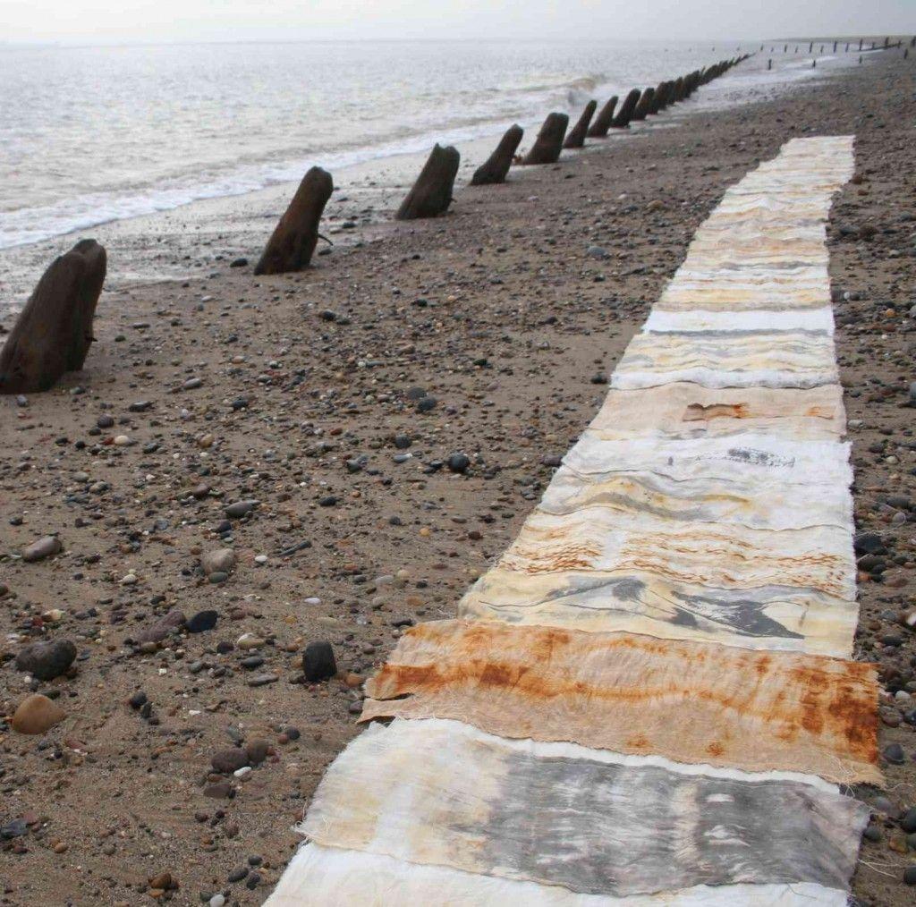 Spurn Cloth #2 on the beach