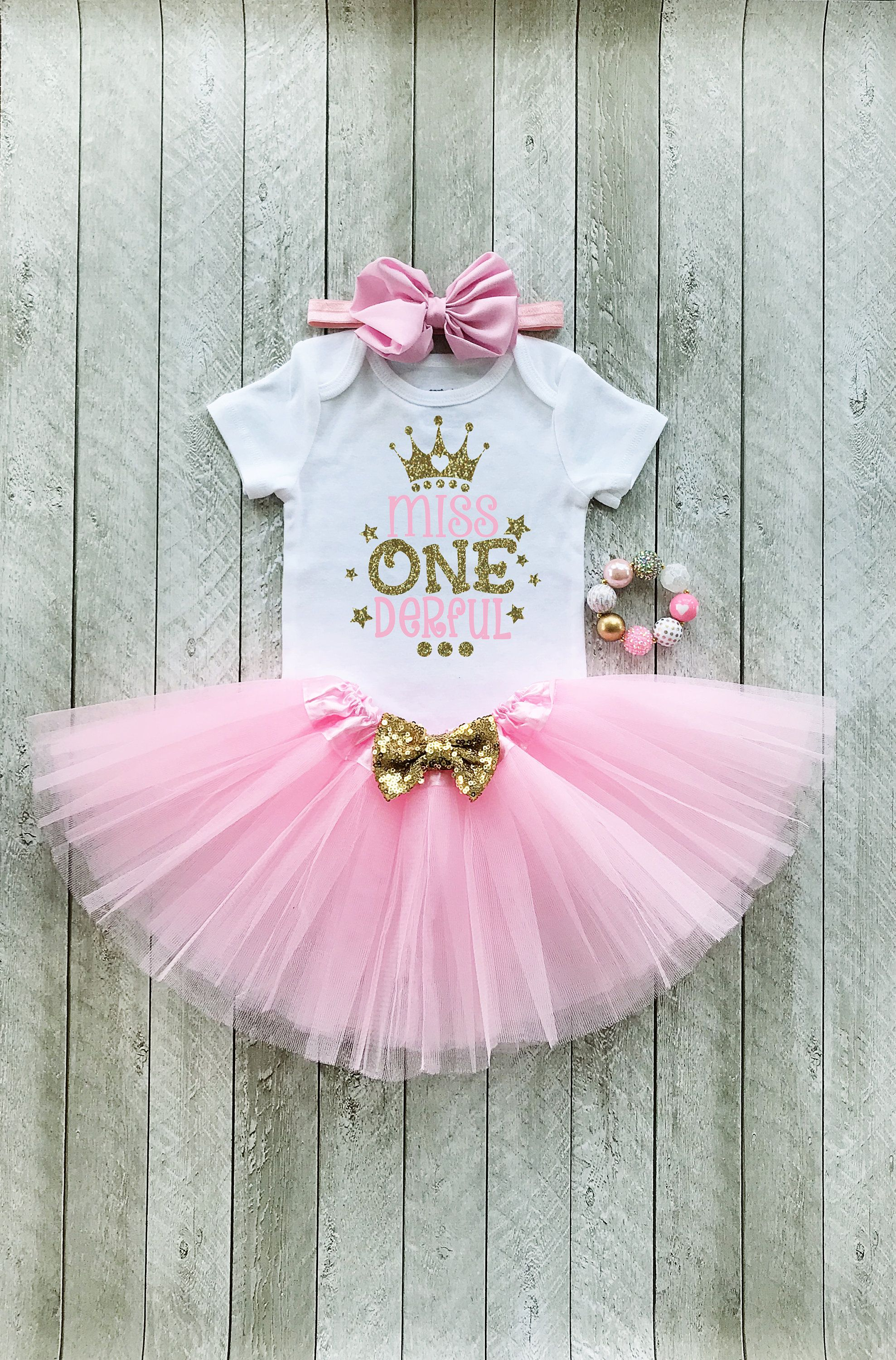 MANY COLORS AVAILABLE! Gold Smash Cake Outfit Girl Baby 1st Birthday Outfit