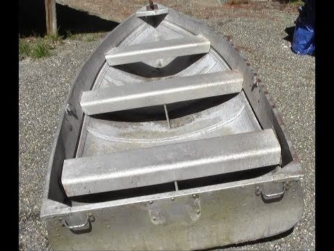 How To Repair An Aluminum Boat Youtube Aluminum Boat Aluminum Fishing Boats Boat Restoration