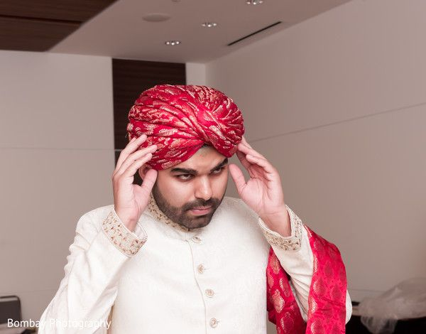 Pakistani groom getting ready. http://www.maharaniweddings.com/gallery/photo/98504