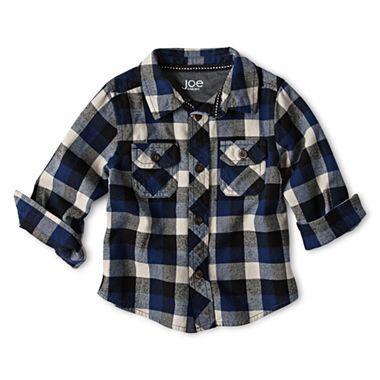 Joe Fresh™ Flannel Shirt - Boys 3m-24m - JCPenney | Baby things ...
