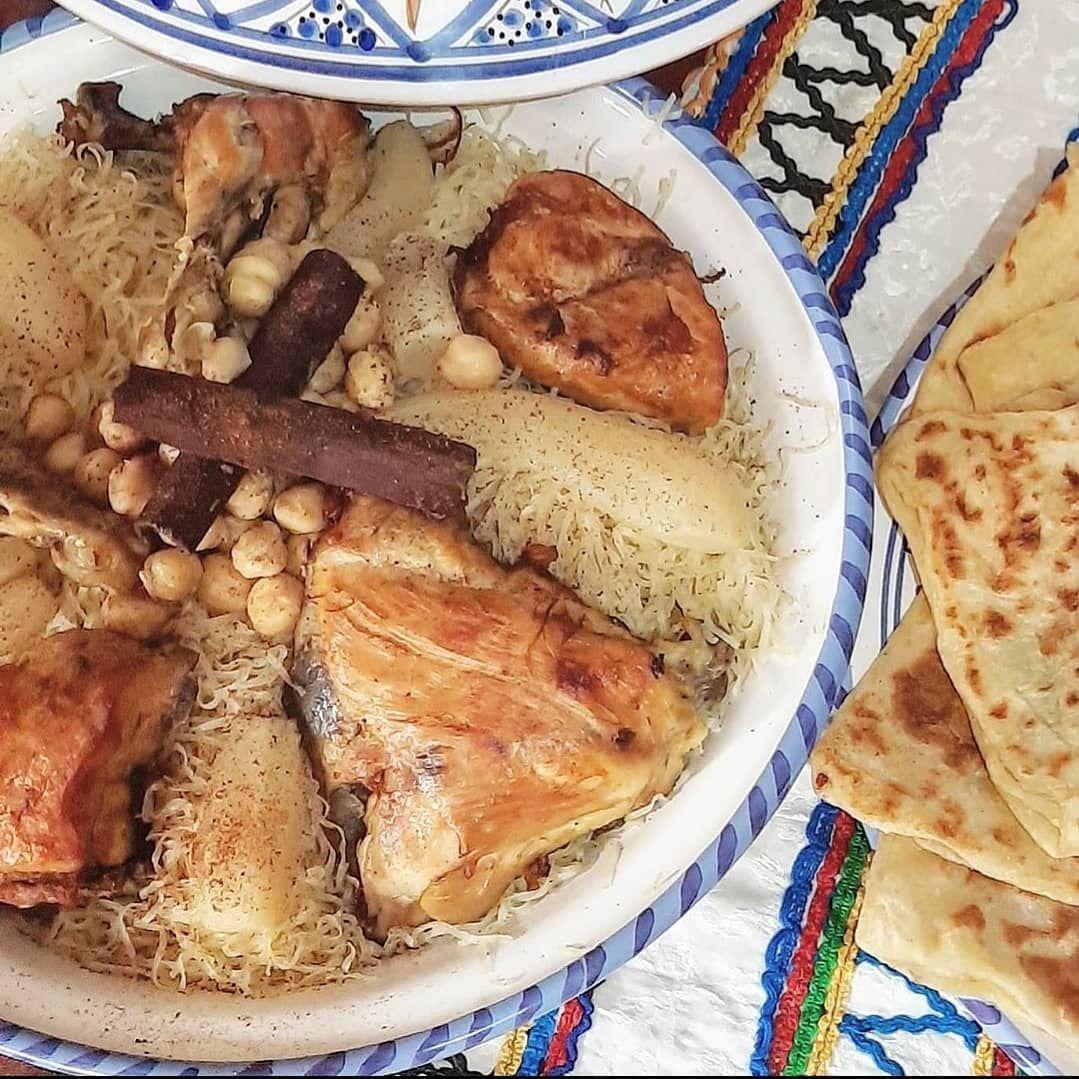 On Instagram الرشتة هي رمز للمطبخ الجزائري العاصمي غالب ا ما يتم استهلاك هذا الطبق أثن Food Breakfast French Toast