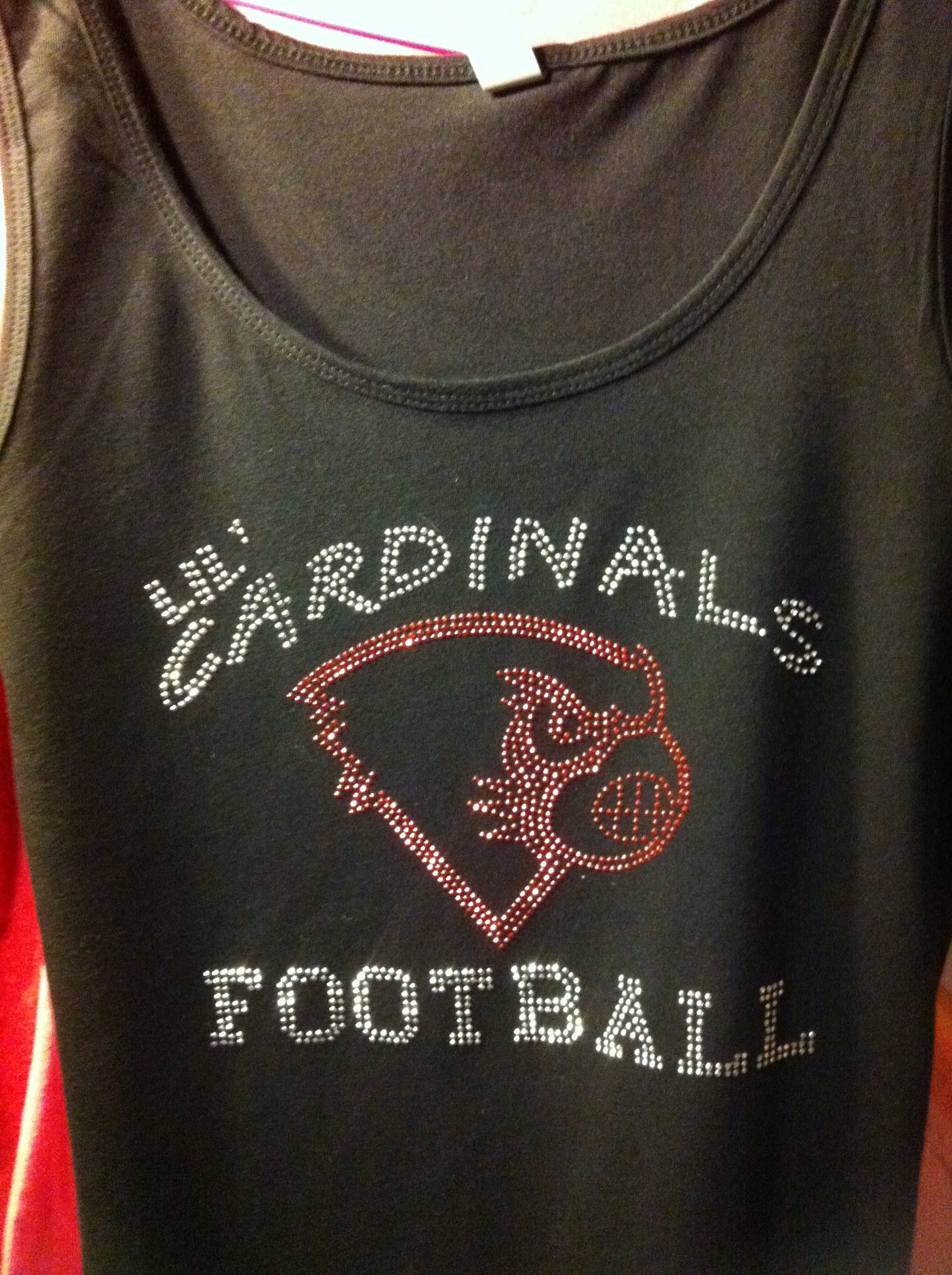 Rhinestud Fan Gear for your young athletes!