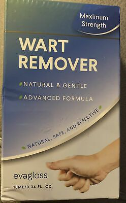 Evagloss Natural Wart Remover Maximum Strength Painlessly Removes Plantar Warts 5063091337245 | eBay