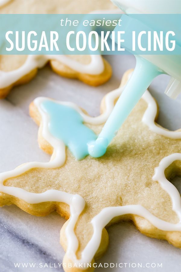 Christmas Sugar Cookies with Easy Icing | Sally's Baking Addiction