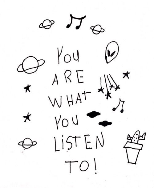 you are what you listen to September 2k15 Pinterest