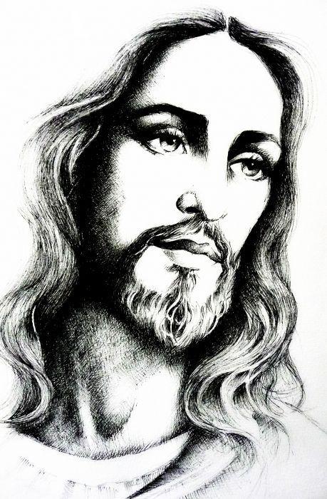 Pin De Hugo Ross En Dibujos Pinterest Jesucristo Cristo Y Dios