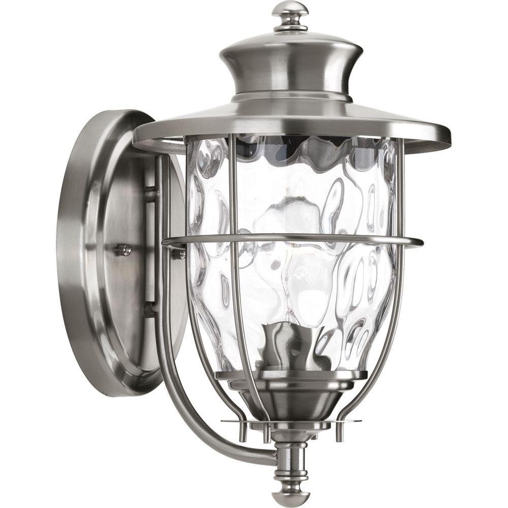 Progress Lighting Beacon Collection 1 Light Stainless Steel