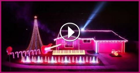 Best Of Star Wars Music Christmas Lights Show 2014 : Video Clips From The Coolest One