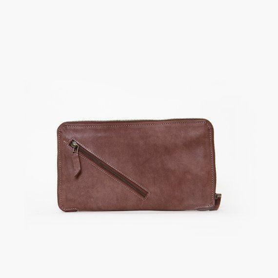 #Brown_Wallet #Women_Wallet Leather Women Purse Leather