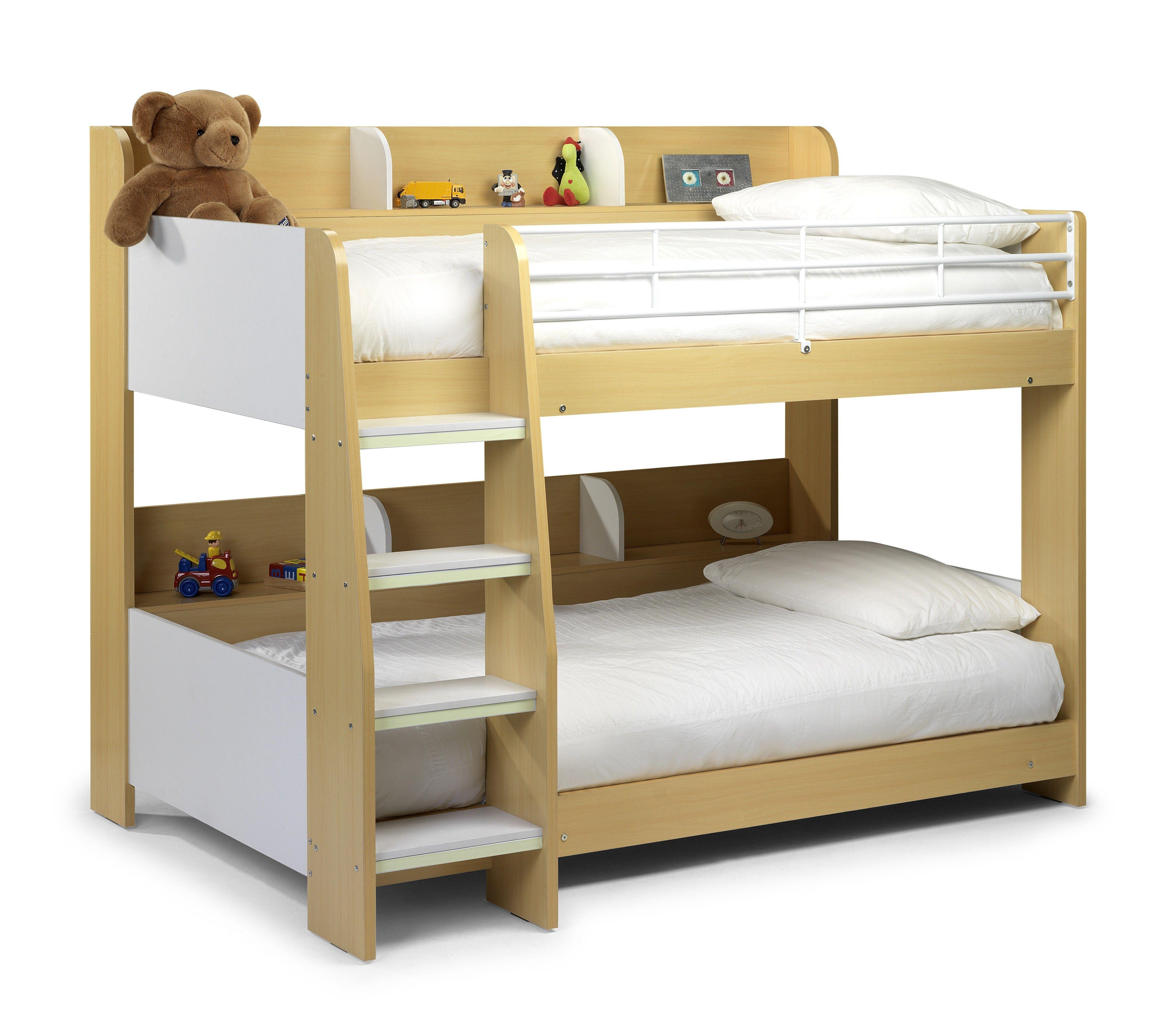 Best £280 Julian Bowen Domino Maple Bunk Bed New Low Price 640 x 480