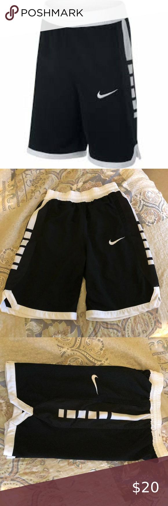Nike Boys Dri Fit Elite Stripe Basketball Shorts In 2020 Basketball Shorts Shorts Dri Fit