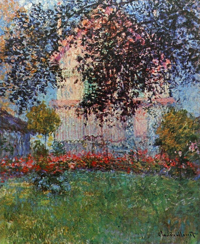 Monet 1876 Maison De Monet A Argenteuil Monet Art Impressionniste Tableau Monet