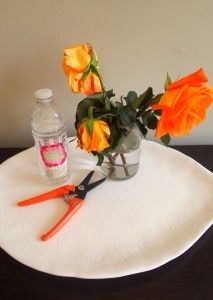how to revive drooping roses