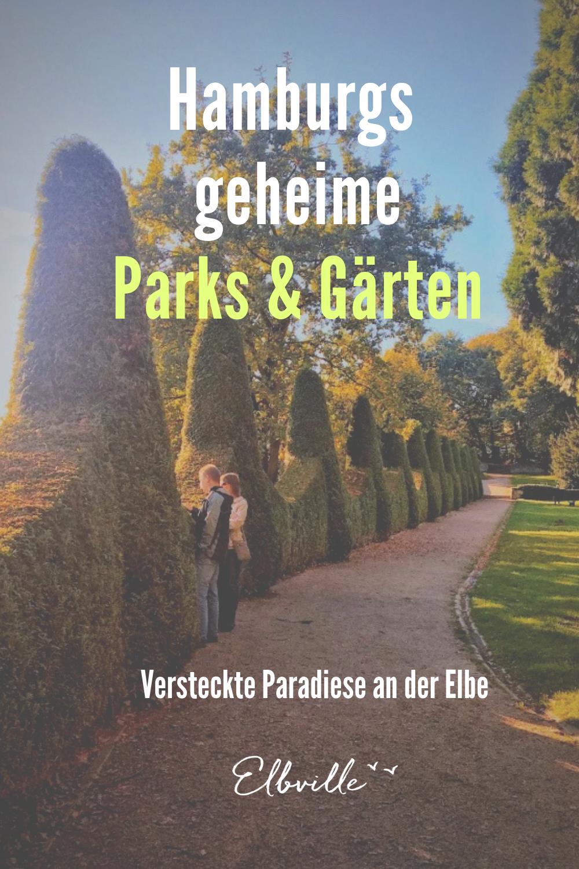 Tipps für grüne Fluchten, Parks und verwunschene Gärten in Hamburg abseits der bekannten Pfade! #jenischpark #hirschpark #römischer #garten