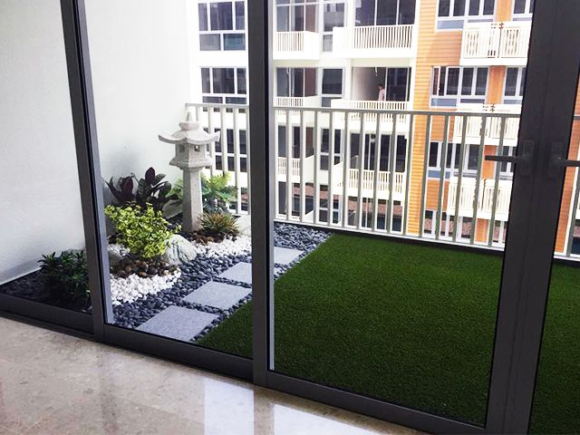 Turn your balcony into a mini green garden! is part of Condo balcony -