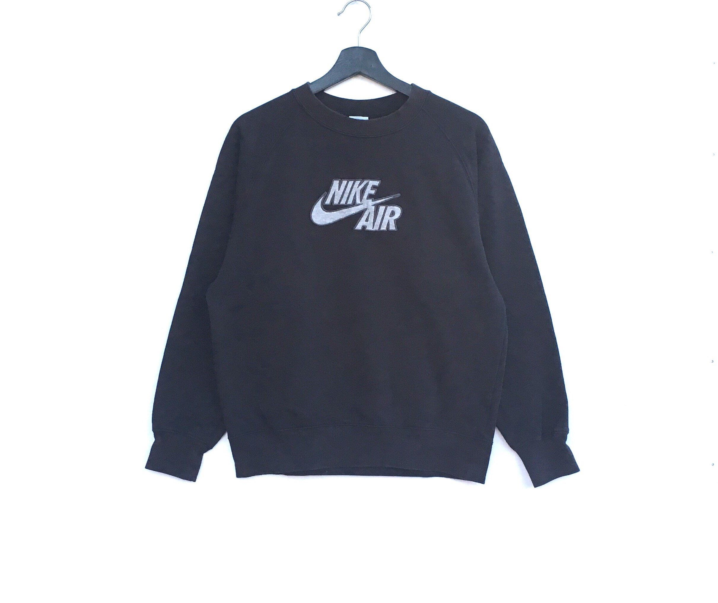 Excited To Share The Latest Addition To My Etsy Shop Rare Nike Air Big Swoosh Logo Men Clothing Sweatshirt P Pullover Sweatshirts Nike Sweater Vintage Nike [ 2032 x 2421 Pixel ]