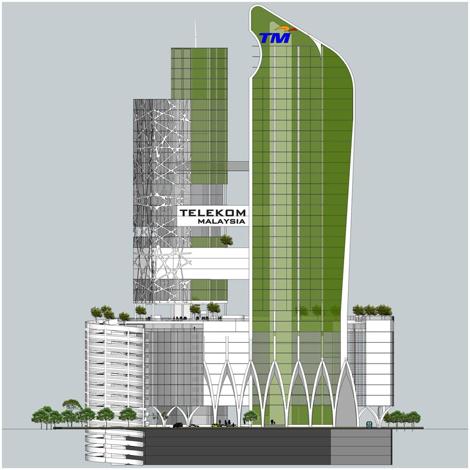 office building design concepts. Proposed Design Concept For Telekom Malaysia HO On Behance Office Building Concepts Y