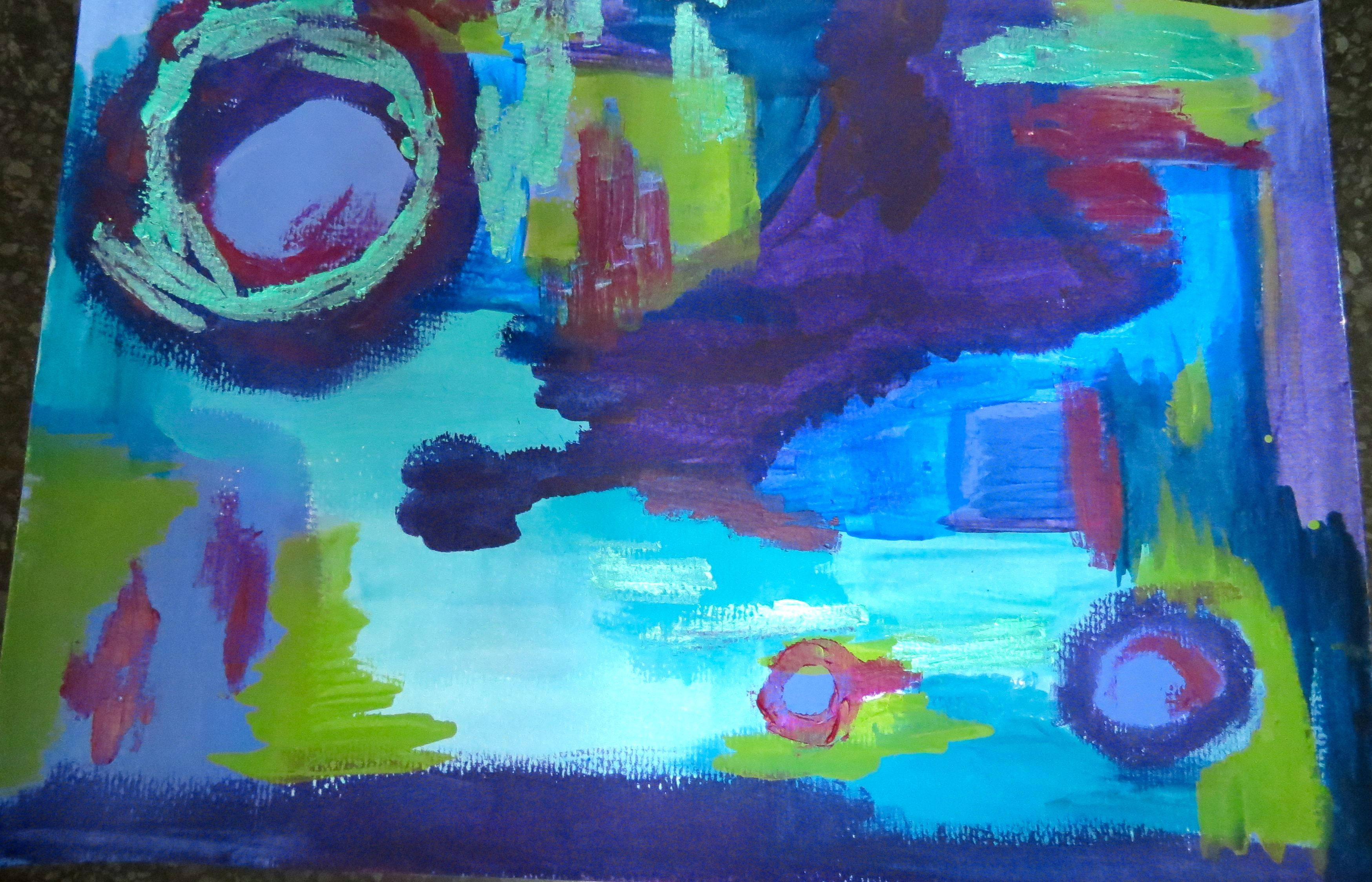playing with colour by kat gottke,, 1st feb 2015