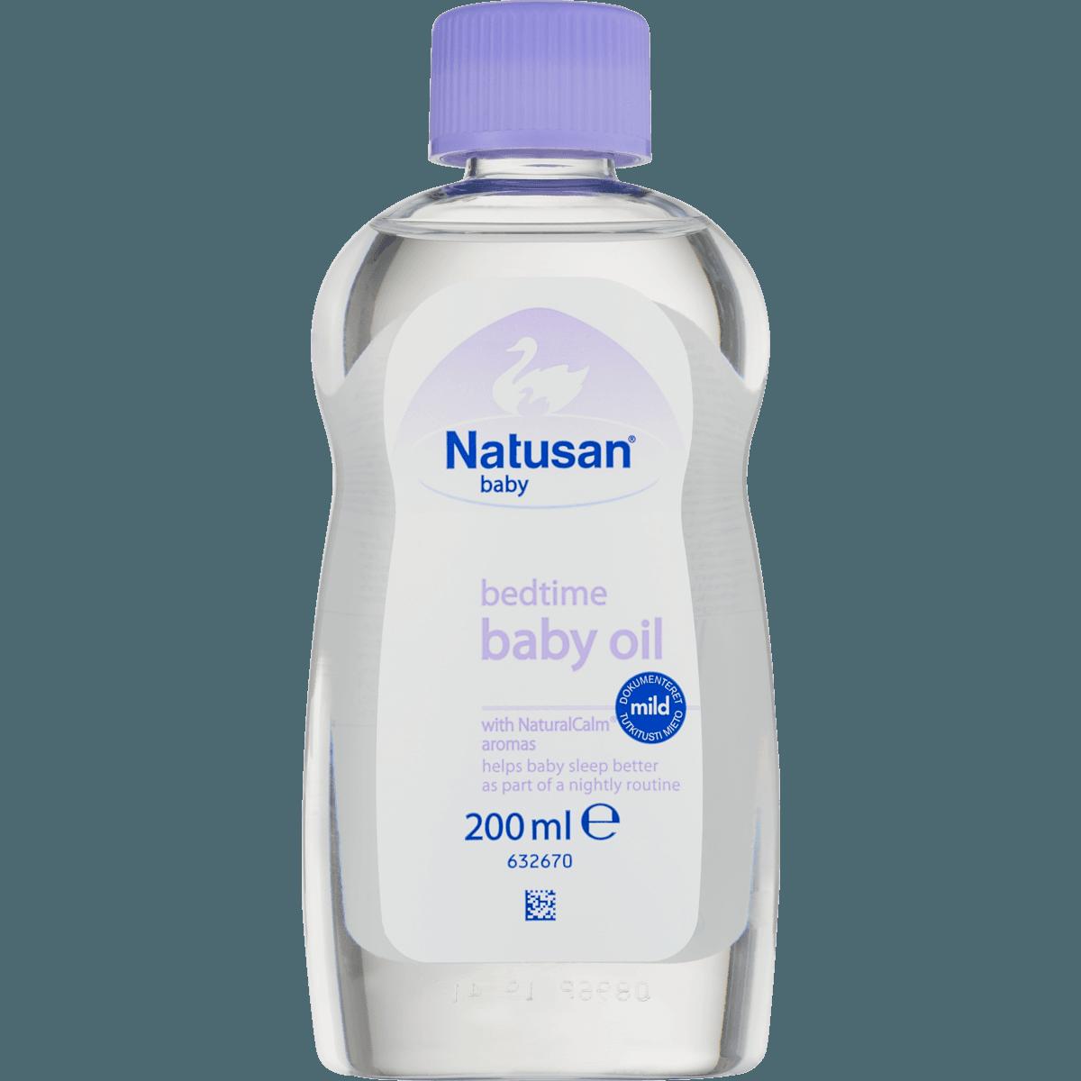 natusan baby oil aloe vera