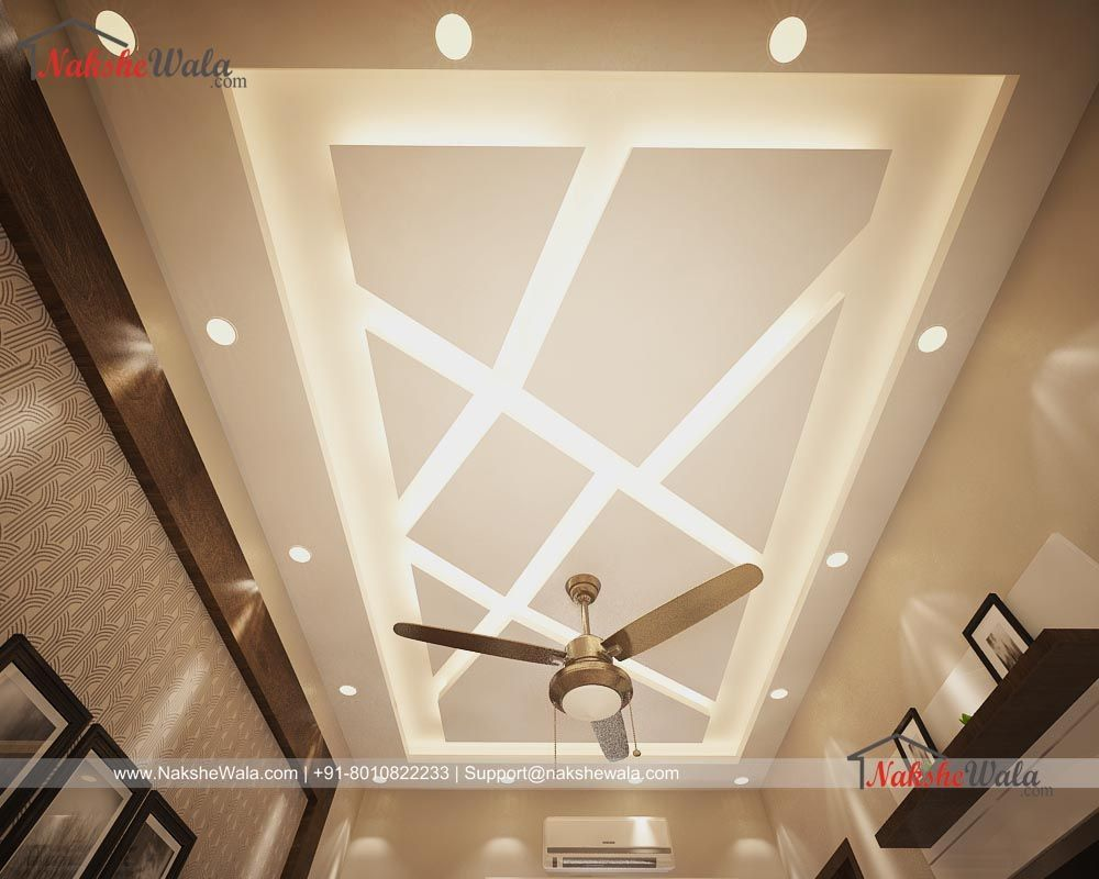 Simple False Ceiling Design For Drawing Room Interior Design By