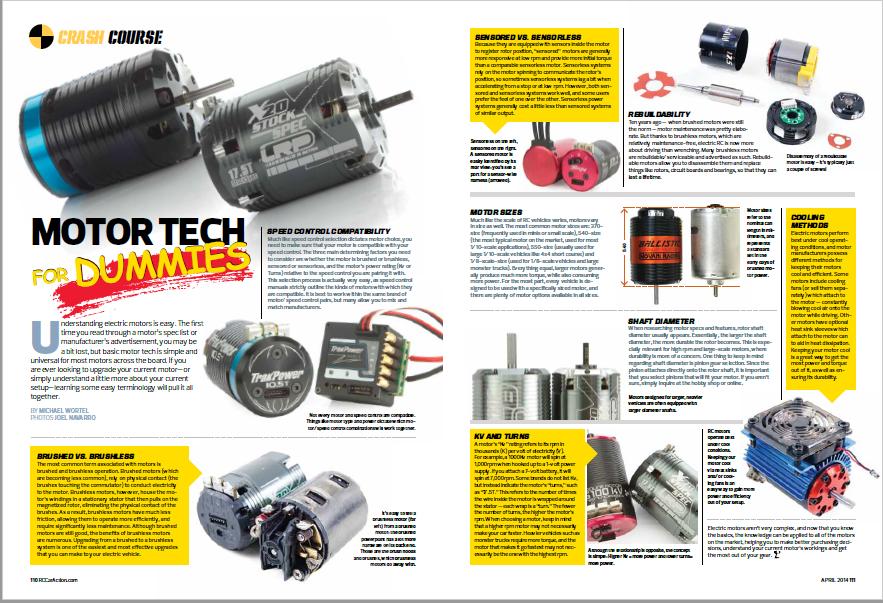 RC Motor Basics