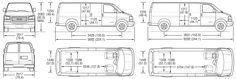 Superb Cargo Van Interior Dimensions 3 Chevy Express Cargo Van Dimensions Chevy Express Van Life Van Interior
