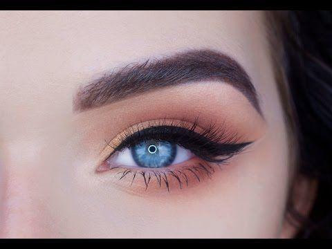 easy everyday eye makeup tutorial  tarte pro palette