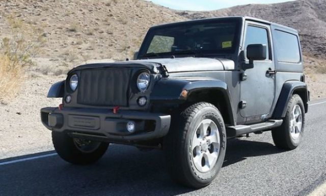 2019 jeep wrangler spied testing car announcements 2018 2019 new