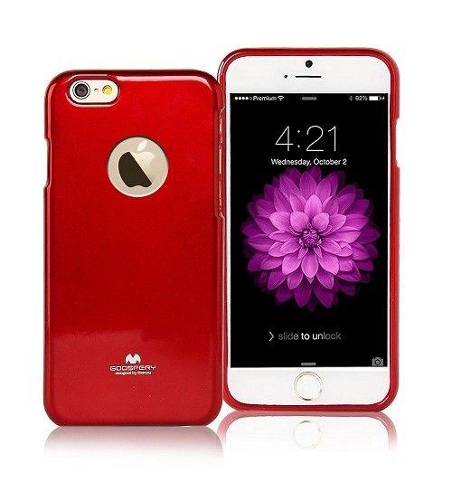FEYESHOPPY IPhone 6 Mercury TPU Goospery Jelly Case Bling Shining Back Cover