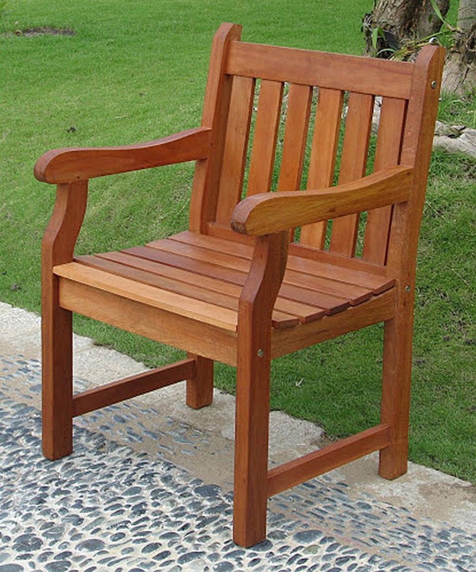 Take a look at this outdoor acacia wood armchair today eucalyptus grandis lawn furniture