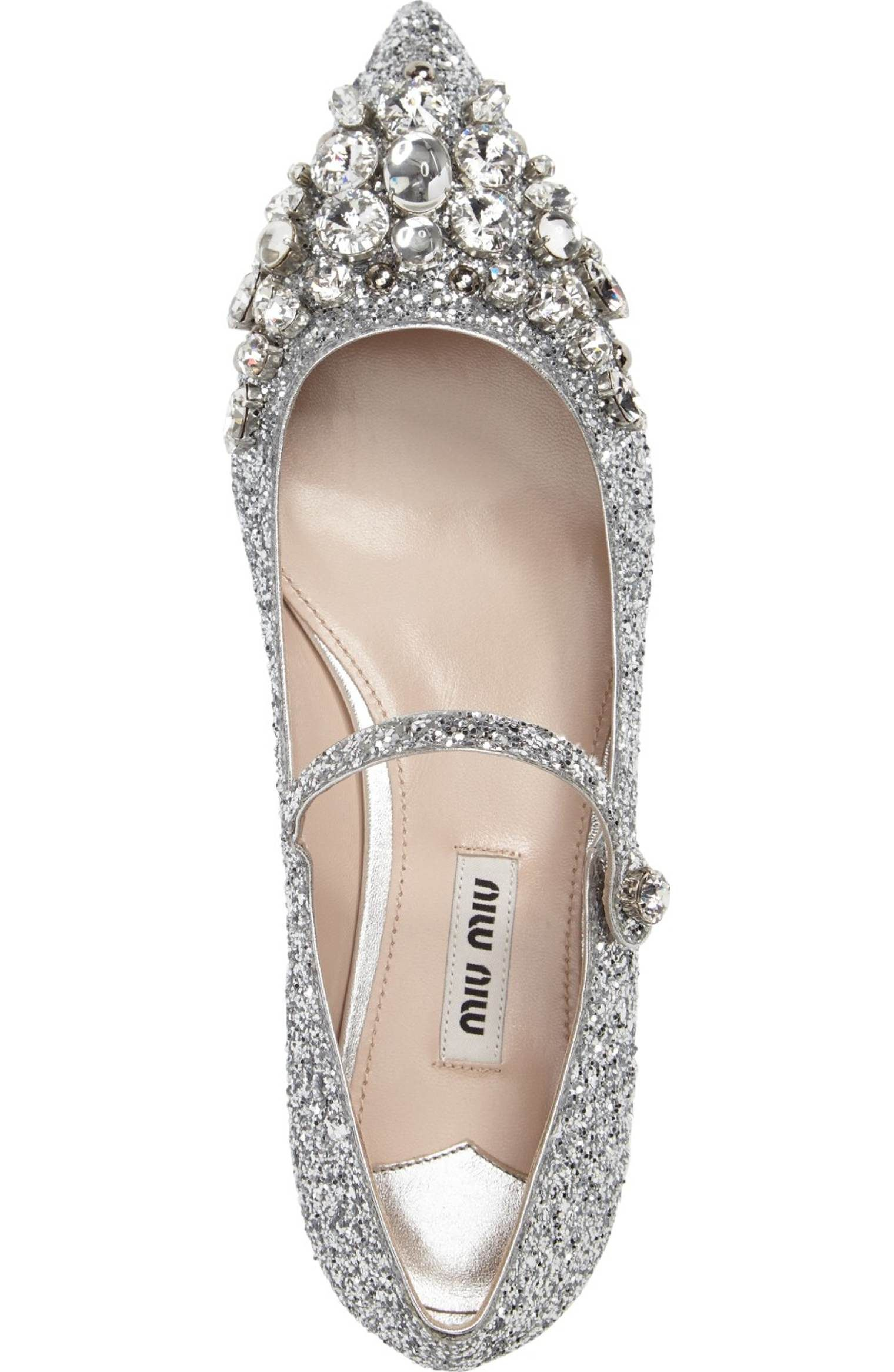 df03af468e Main Image - Miu Miu Crystal Pointy Toe Mary Jane (Women) | If I was ...