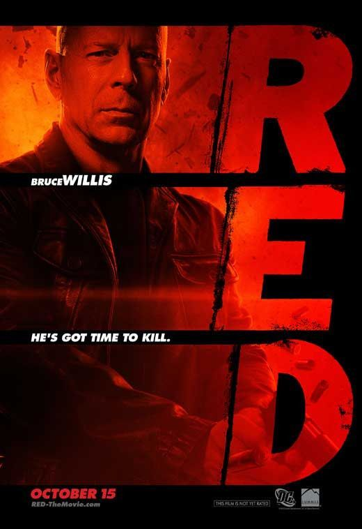 Red 27x40 Movie Poster 2010 Bruce Willis Movie Posters Free Movies Online