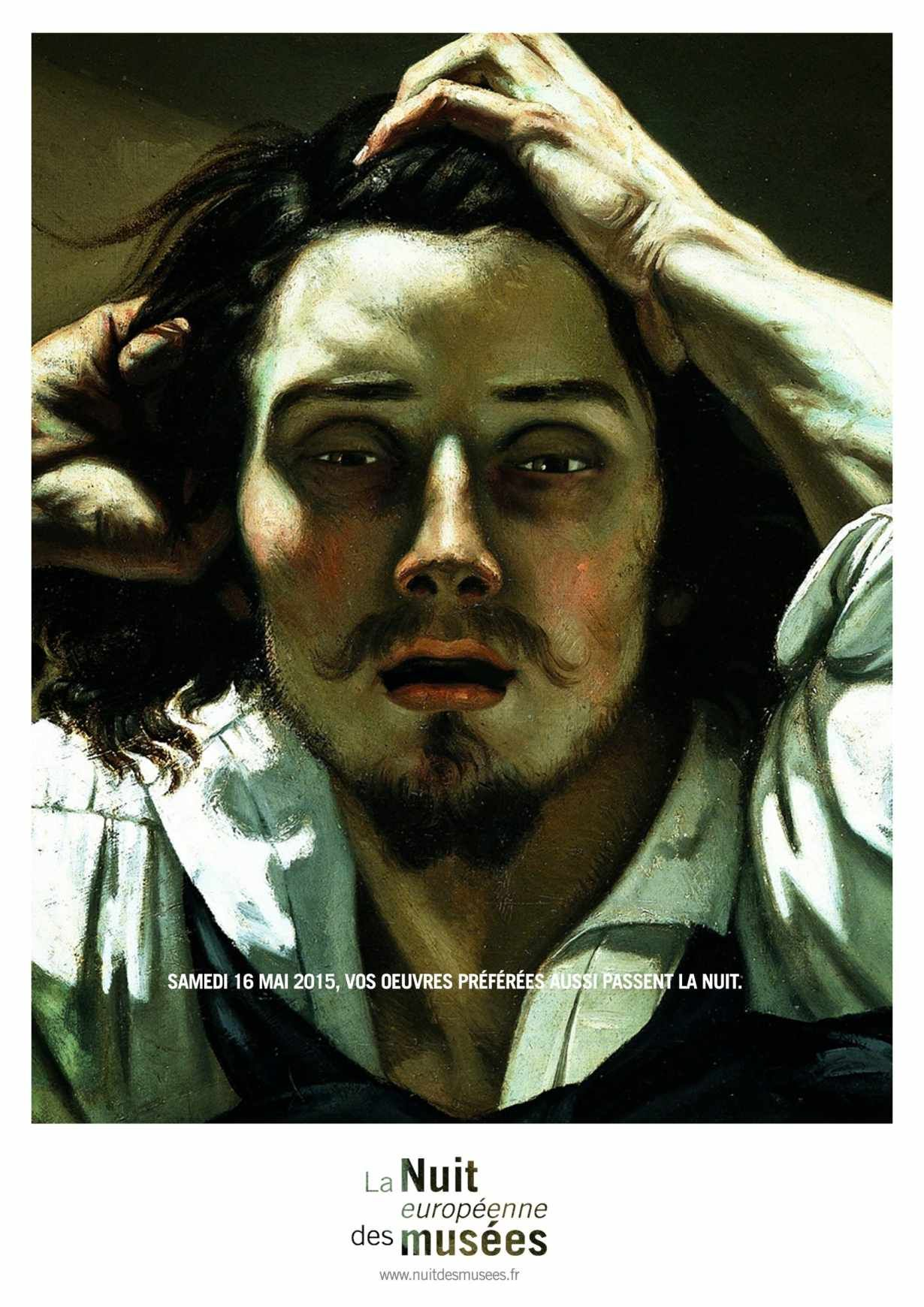 gustave courbet the desperate man analysis