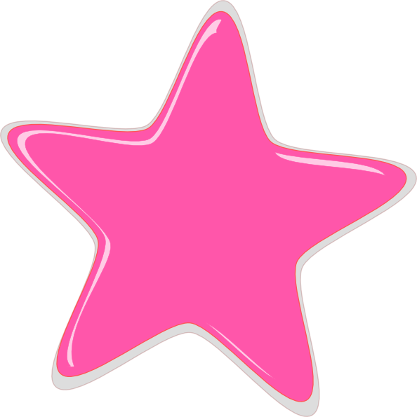 everything pink clip art pink star editedr clip art vector clip rh pinterest com Blue Star Clip Art Blue Star Clip Art