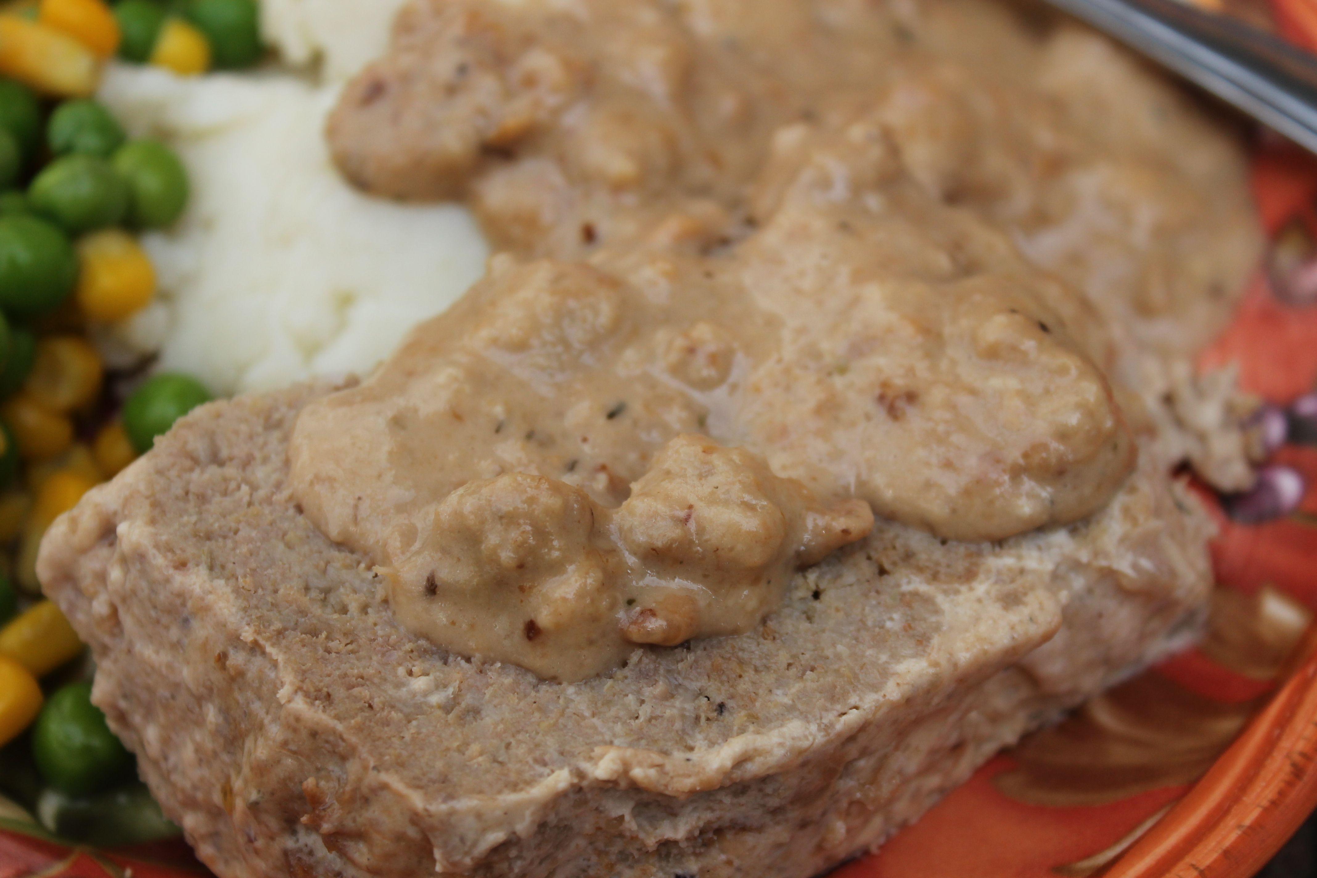 Crock Pot Meatloaf & Gravy