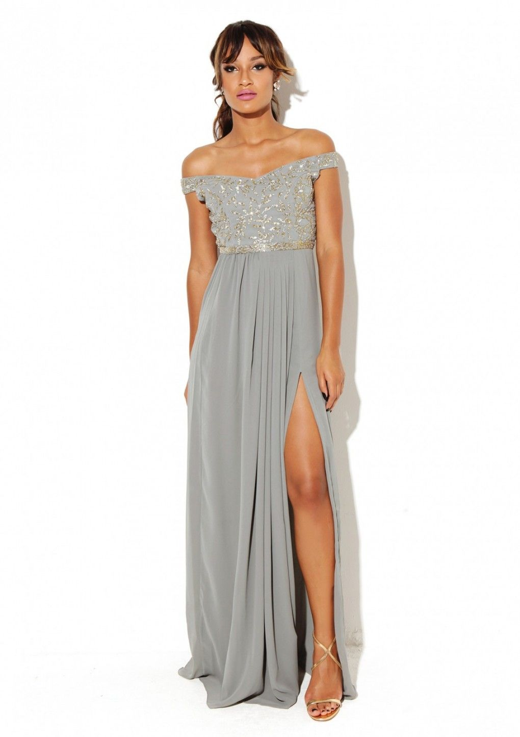 Juliana dress grey virgos lounge whatus the occasion