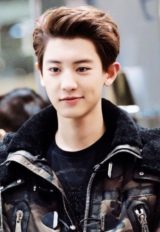 Exo Young Blood : Heyo i m chanyeol or some people know me as happy virus