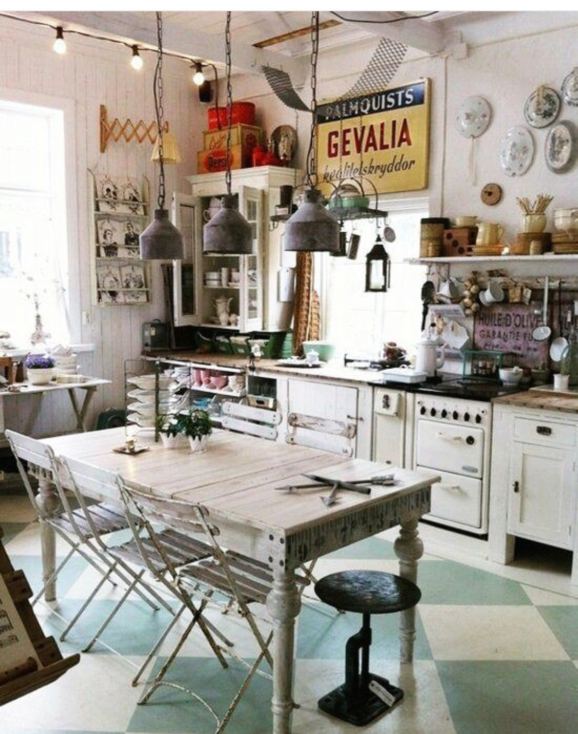 cluttered casa pinterest clutter kitchens and open shelving