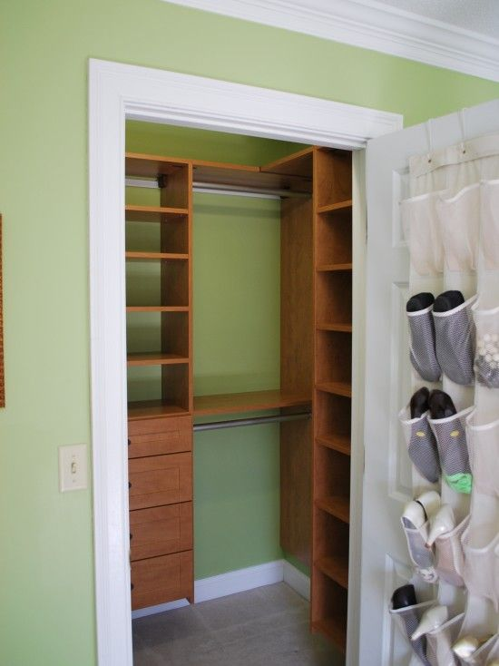 Wonderful Tiny Well Designed Closet...idea For Coat Closet
