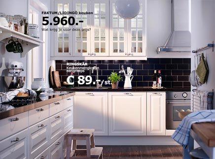 Ikea keuken greeploos ikea keuken met andere frontjes in mooi
