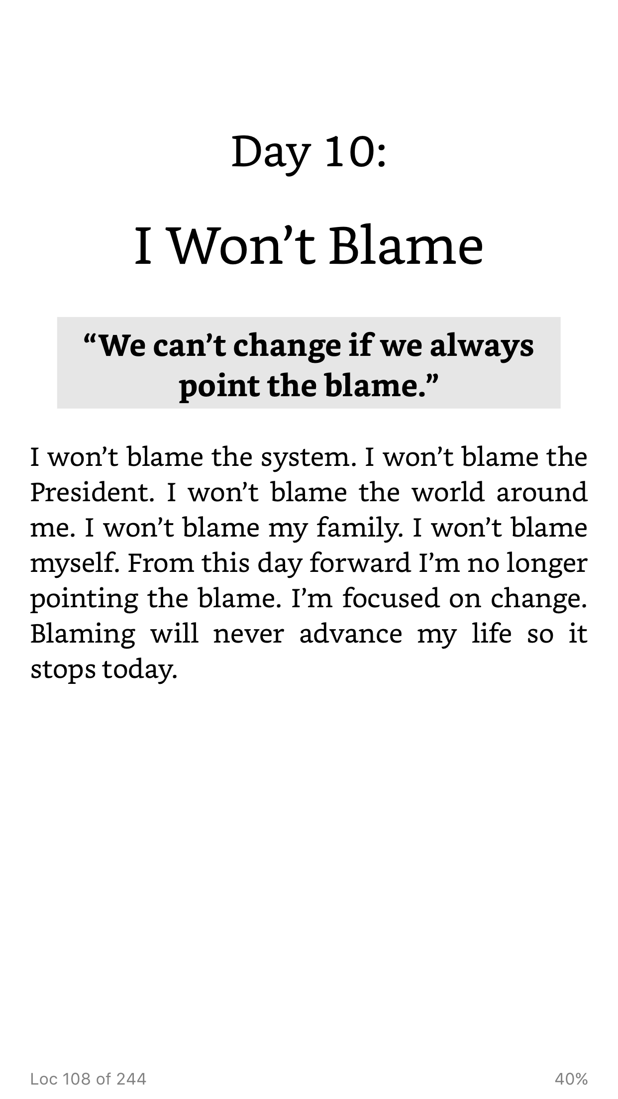 Pin By Yecart On 31 Daily Affirmations By Tony A Gaskins