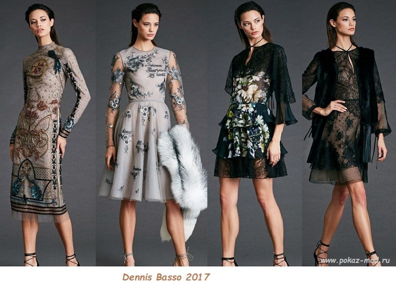 Платья мода весна 2017