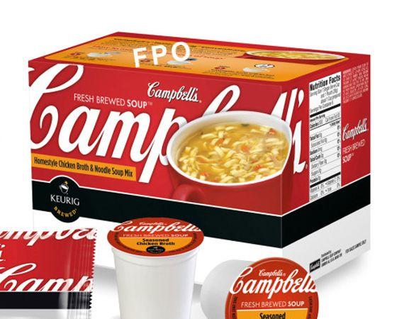 campbells kcups | keuring campbell soup kcups sm Keurig Campbells Soup K Cups Coming ...