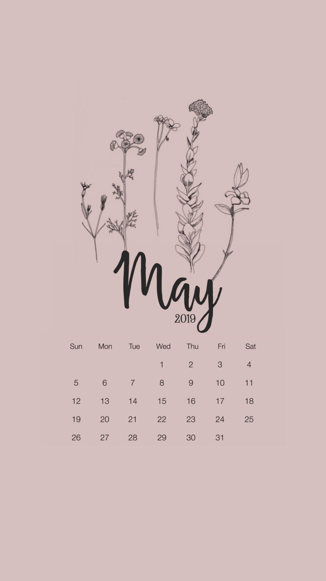 May 2020 Desktop Calendar Wallpaper In 2020 Calendar Wallpaper