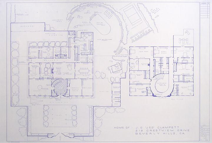 Beverly Hillbillies Mansion Floor Plan Derrickandmelisa