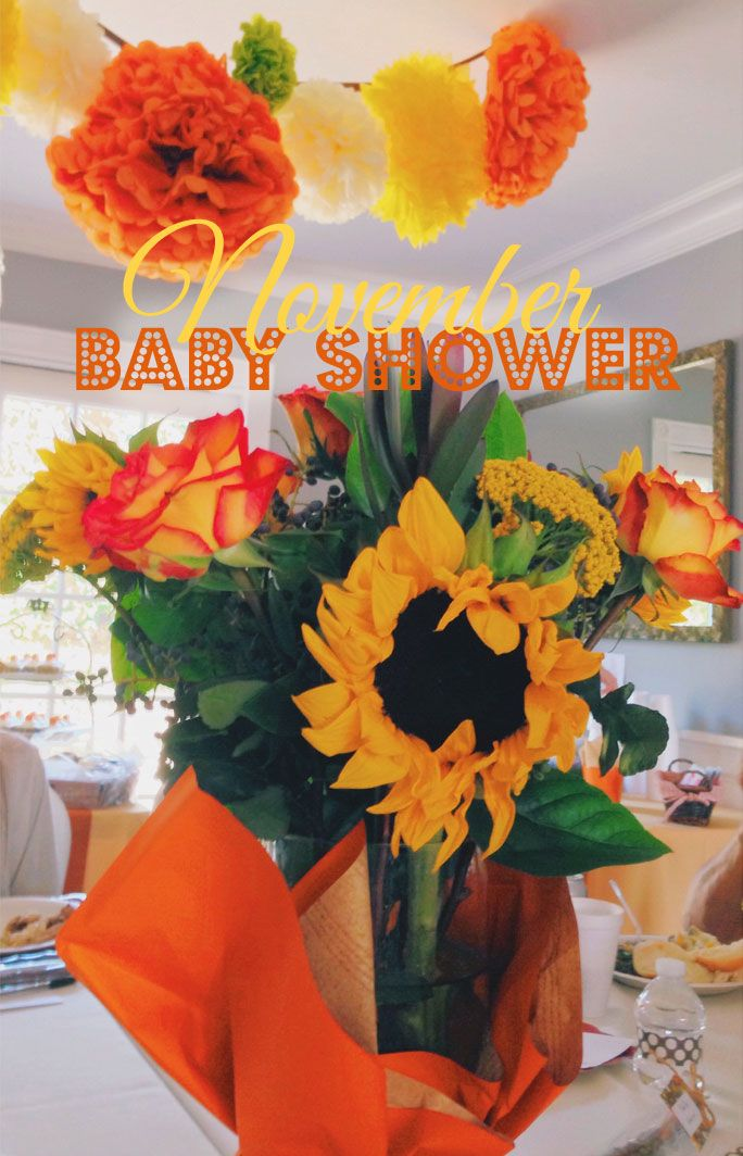november baby showers on pinterest