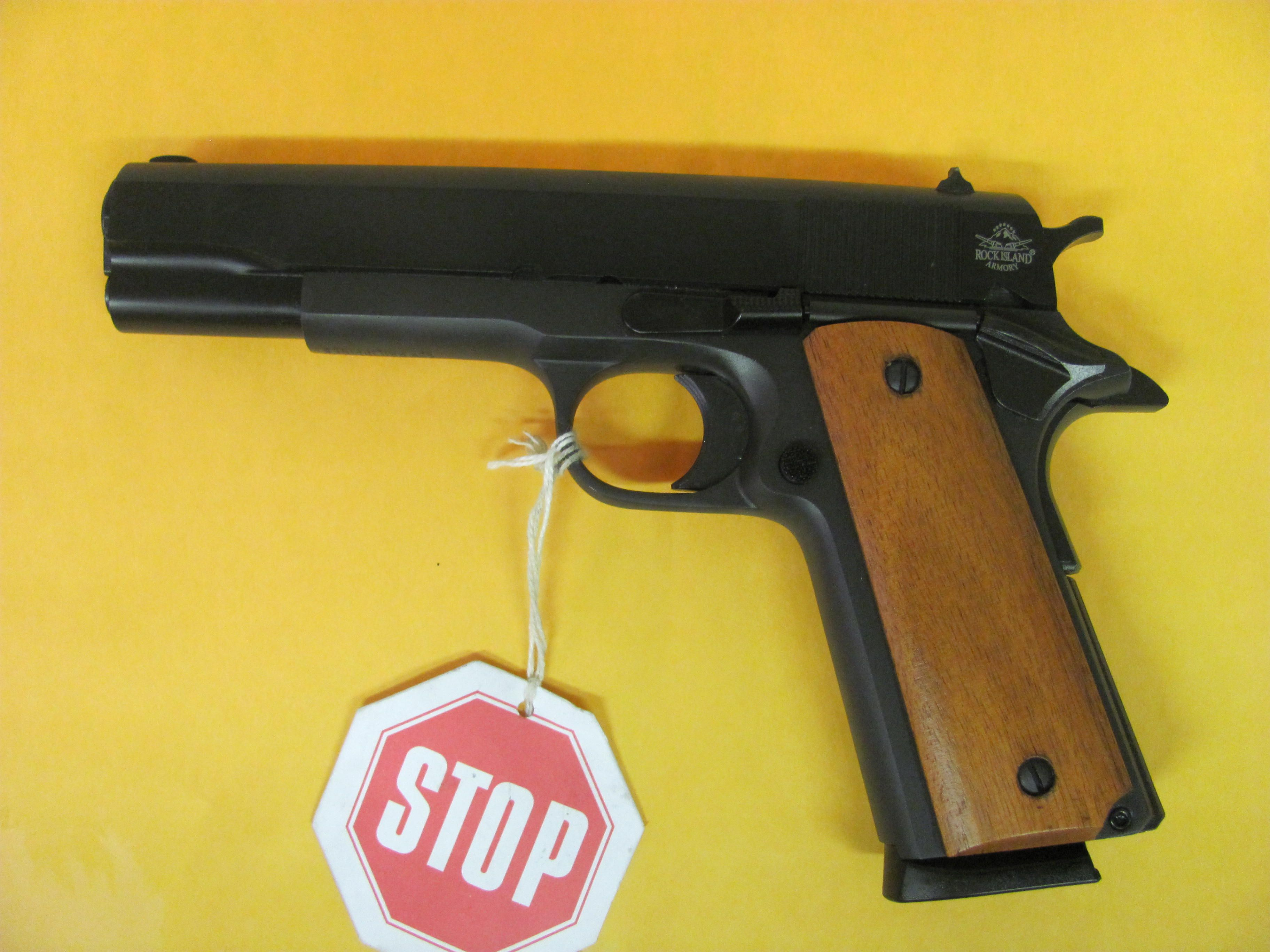 ROCK ISLAND ARMORY 1911 A1 45 ACPLoading that magazine is a pain! Get your Magazine speedloader today! http://www.amazon.com/shops/raeind