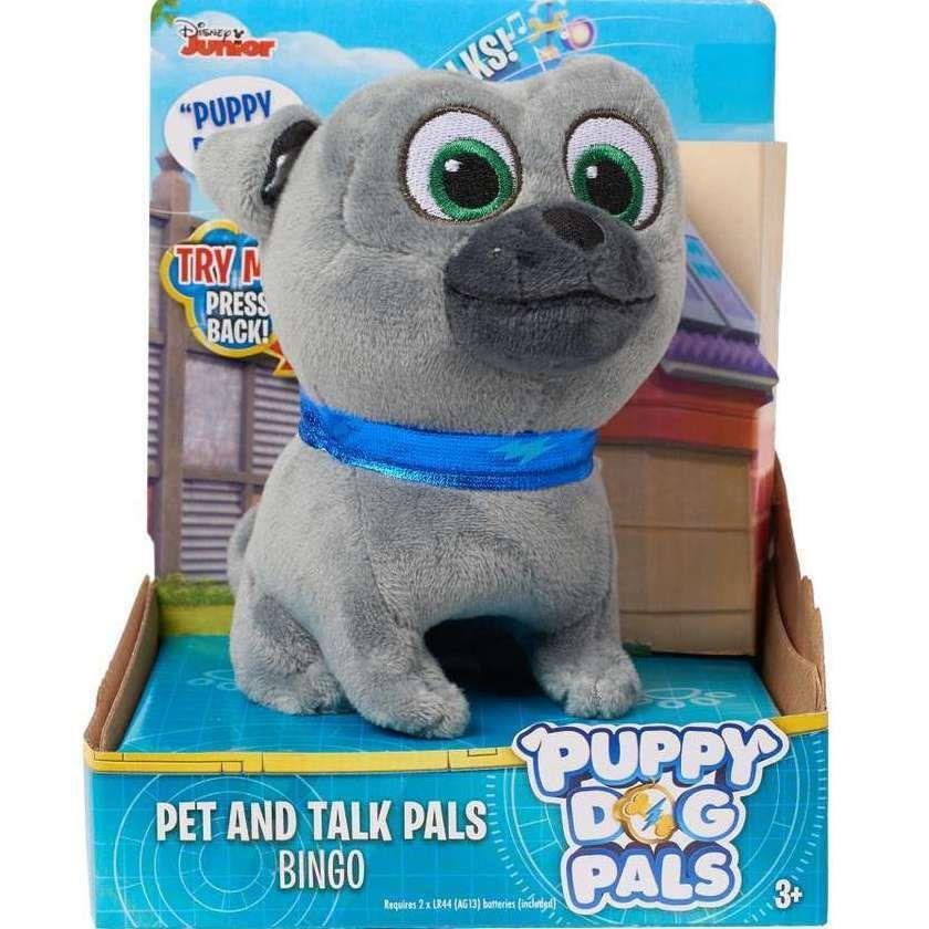 Disney Puppy Dog Pals Bingo 4 Pet And Talk Plush Stuffed Barks